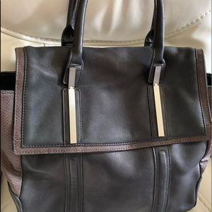 Structured leather Walter Walter Baker leather bag